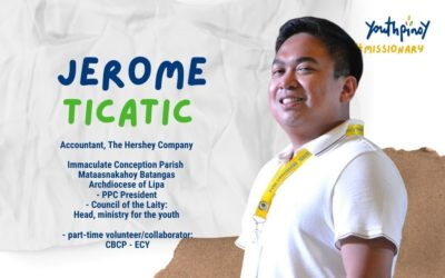 Jerome Ticatic   #YPMissionary