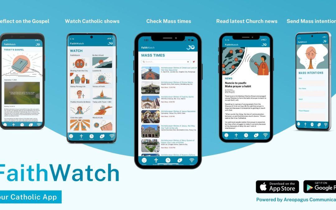 Nuncio, bishops laud new Catholic app 'FaithWatch'